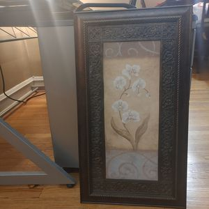 Rustic Framed Orchid Art Work for Sale in Evanston, IL