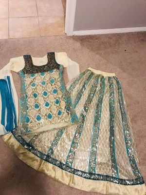 Heavy sequences Embroidered party dress size S for Sale in Springfield, VA