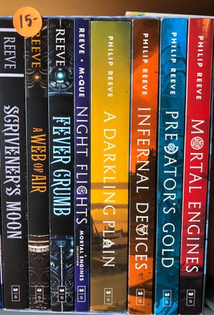 Mortal engines 8 book collection for Sale in Vallejo, CA