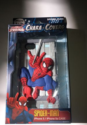 *SALE* Marvel Ultimate Spider-Man Chara-Cover Phone Case (For iPhone 5/5s) for Sale in San Diego, CA
