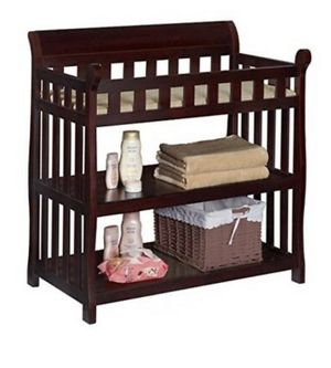 Babies R Us Cherry Wood Changing Table for Sale in Santa Clarita, CA