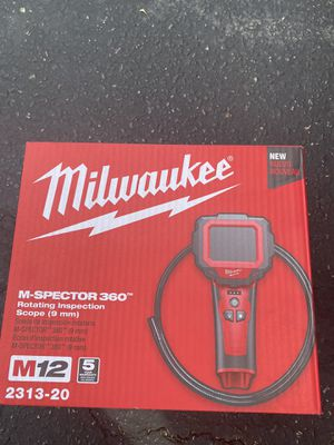 Milwaukee M12 12-Volt Lithium-Ion Cordless M-Spector 360 Digital Inspection Camera (Tool-Only) for Sale in Anaheim, CA