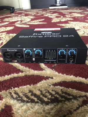 Saffire Pro 24 Audio Interface for Sale in Seattle, WA