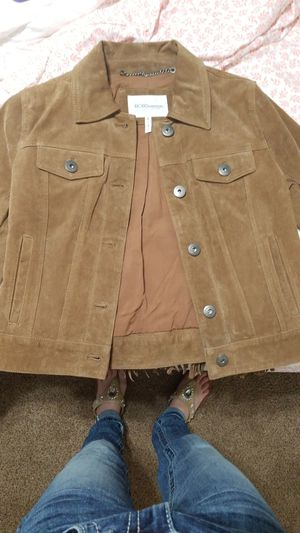 Leather fringe jacket for Sale in Burleson, TX