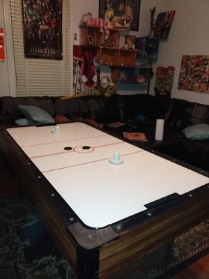 Brunswick air hockey table, works great!! for Sale in St. Louis, MO