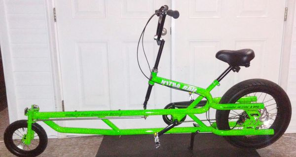 Bicycle NITRO RAIL DRAGSTER BICYCLE VERY RARE for Sale in Lakeland, FL -  OfferUp