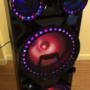 312#966#77#32 Central Park Y George Bocina recargable con Bluetooth y radio perfecta para cantar karaoke for Sale in Chicago, IL