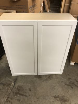 Kitchen Craft white wall cabinet 39' wide 42' tall 13' deep for Sale in Cary, NC
