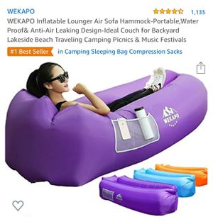 Inflatable lounger air sofa for Sale in Los Angeles, CA