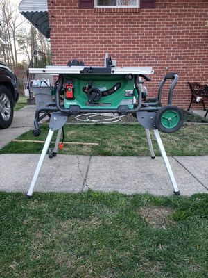 Hitachi table saw for Sale in Milford Mill, MD