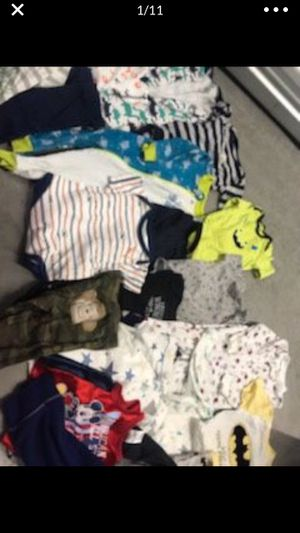 0-6 months baby boy clothes for Sale in Denver, CO