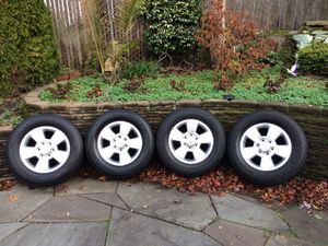 Set of 4 Toyota Wheels/rims + Bridgestone Tires - used 50% off! for Sale in Portland, OR