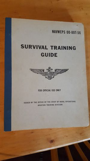 Survival Training Guide military collectible book for Sale in Mifflinburg, PA