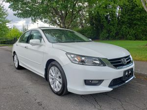 2015 honda accord EX-L AUTOMATIC 6CYL very clean LOW MILES sport rear CAMERA NAVIGATION SYSTEM FULLY loading leather SEATS LOW MILES sport for Sale in Portland, OR