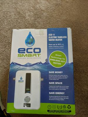 EcoSmart electric tankless water heater for Sale in Parma, OH