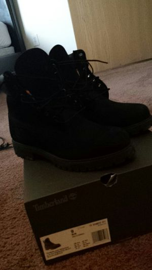 Black Timberlands Size 9 Clean for Sale in Detroit, MI