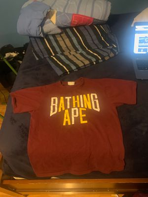 Bape shirt for Sale in Clinton Township, MI