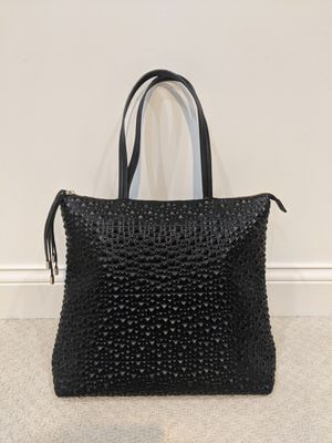 Big Budda Faux Leather Large Black Tote for Sale in Willowbrook, IL