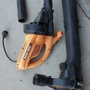 Leaf Blower And Vacuum Black And Decker Works Great Very Powerful for Sale in Riverside, CA
