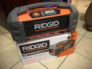 RIDGID JOBSITE BOOMBOX for Sale in Austin, TX
