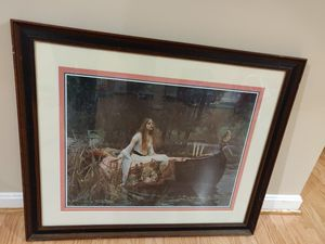 Painting - The Lady of Shalott (33' x 27.5') for Sale in Herndon, VA