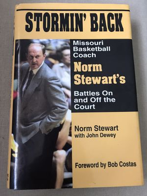 Stormin back norm Stewart book for Sale in Columbia, MO
