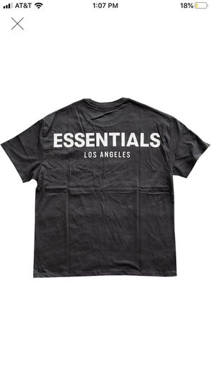 Fear of God Los Angeles 3M Boxy Black Tee Shirt sz Large Atmosphere pop up for Sale in Downey, CA