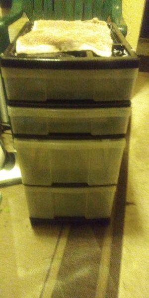 Nice storage bin on wheels gd hair stuff makeup etc 7dol firm lots gd deals my post go look for Sale in Jupiter, FL