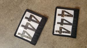 Horse show saddle pad number set for Sale in Sammamish, WA