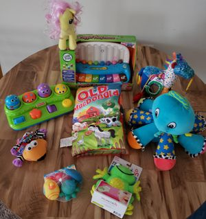 Growing Baby Plush Rattles and more Lot for Sale in Hyattsville, MD
