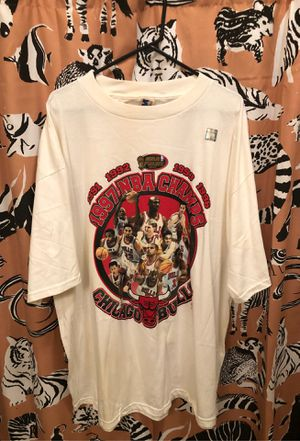 Vintage Chicago bulls nba champions t shirt size xxl for Sale in Fort Worth, TX