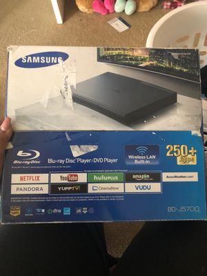 Samsung Blu-ray Disk player/DVD Player for Sale in Salisbury, NC