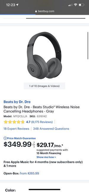 Beats studio 3 wireless for Sale in Vista, CA
