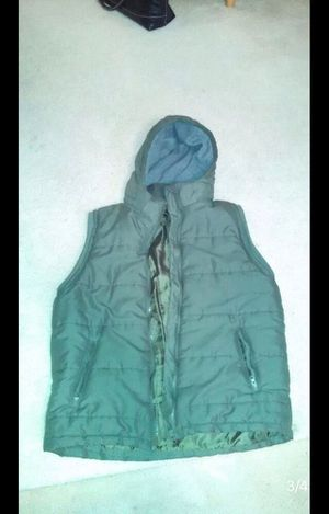 Green puffer vest for Sale in Frederick, MD