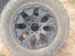 Tires and rims selling for 500 or best offer came off of a 2016 Ford F250 for Sale in Odessa, TX