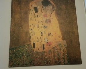 The Kiss by Gustav Klimt for Sale in New York, NY