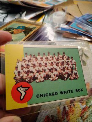 Chicago White Sox 1963 Topps Team Checklist #288 Baseball Card for Sale in Port Richey, FL