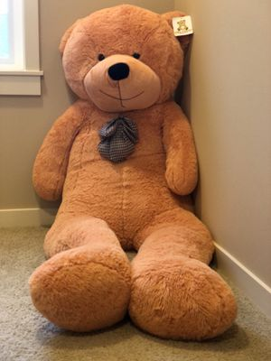 Giant Stuffed 78 inches (6.5 Feet) Teddy Bear by Mr. Bear Cares for Sale in Bellevue, WA