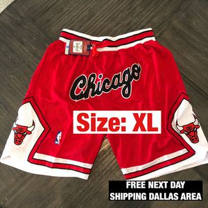 CHICAGO BULLS SHORTS 100% STITCHED for Sale in Keller, TX
