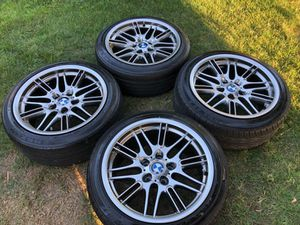"BMW ///M rims/wheels and Tires 18x8.5"" 225/45R18 Rare Gun Metal Gray""! for Sale in Los Angeles, CA"