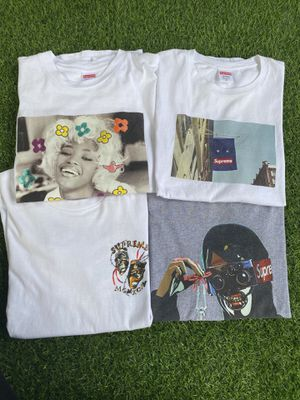 Supreme tees !! Sz med for Sale in Greensboro, NC