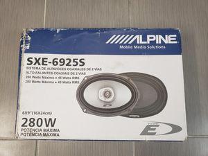ALPINE SXE-6925S 280 WATT CAR SPEAKER for Sale in Boston, MA