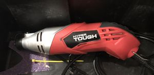 Hyper tough rotary tool with dremel bits, multi tool/sander with sanding pads for Sale in Phoenix, AZ