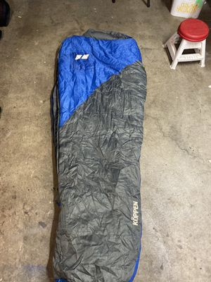 Koppen 20 degree sleeping bag for Sale in Gresham, OR