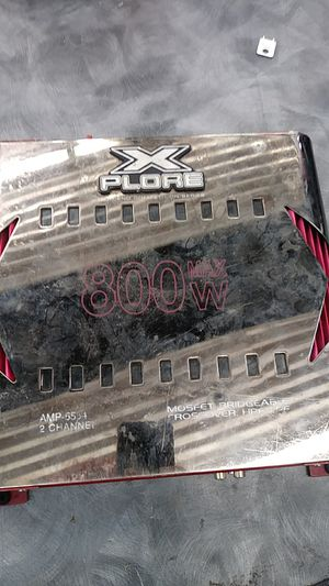 Xplore amp for Sale in Austin, TX