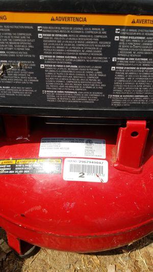 Porter cable compressor 150psi for Sale in Beltsville, MD