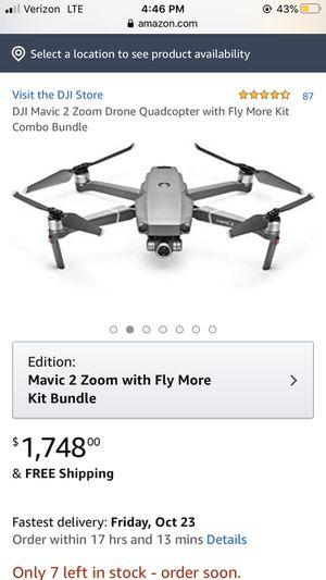 DJI Mavic Zoom 2 Drone for Sale in Phoenix, AZ