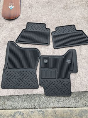 Chevy Silverado Duramax OEM rubber floor mat set for Sale in Newcastle, WA
