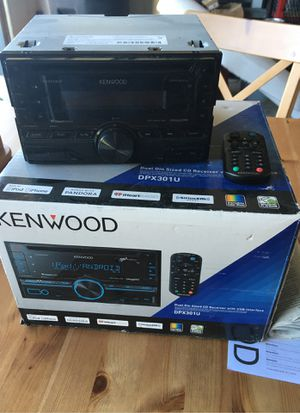 Car Stereo Kenwood for Sale in Colorado Springs, CO
