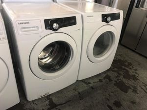 Samsung Front Load Washer and Dryer Set!! for Sale in Montclair, CA